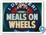 """Meals on Wheels"" Logo Design #indiaSheana"