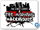 """No Limit Larry and the Morning Maddhouse"" Logo Design #indiaSheana"